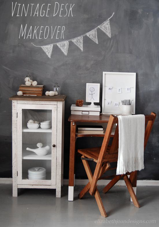 DIY Vintage Desk Upcycle