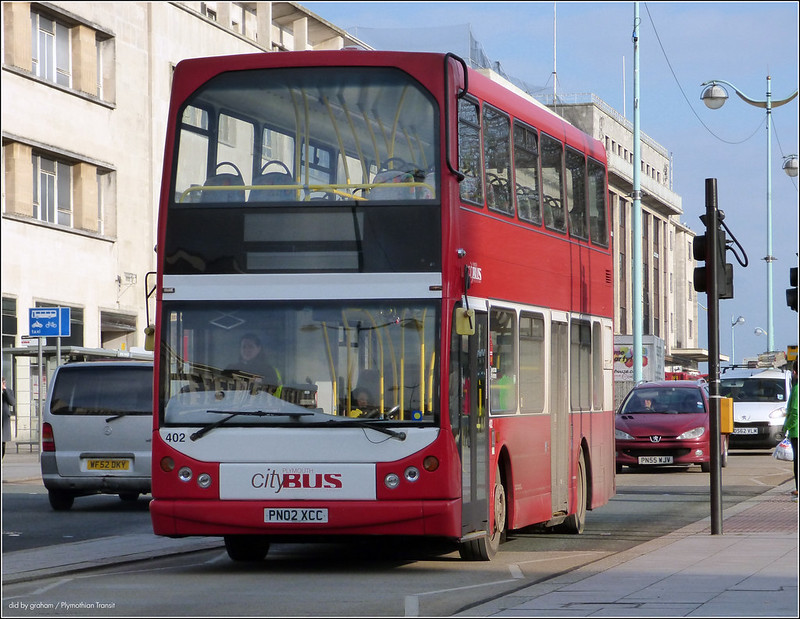 Plymouth Citybus 402 PN02XCC