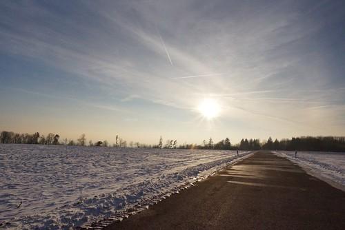Winter sun ...