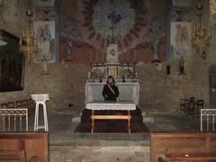 Interieur de l'église de Fa