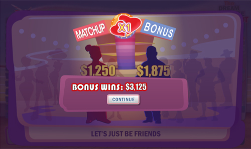 free The Love Boat bonus game win