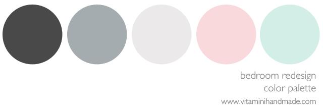 Bedroom Redesign Color Palette