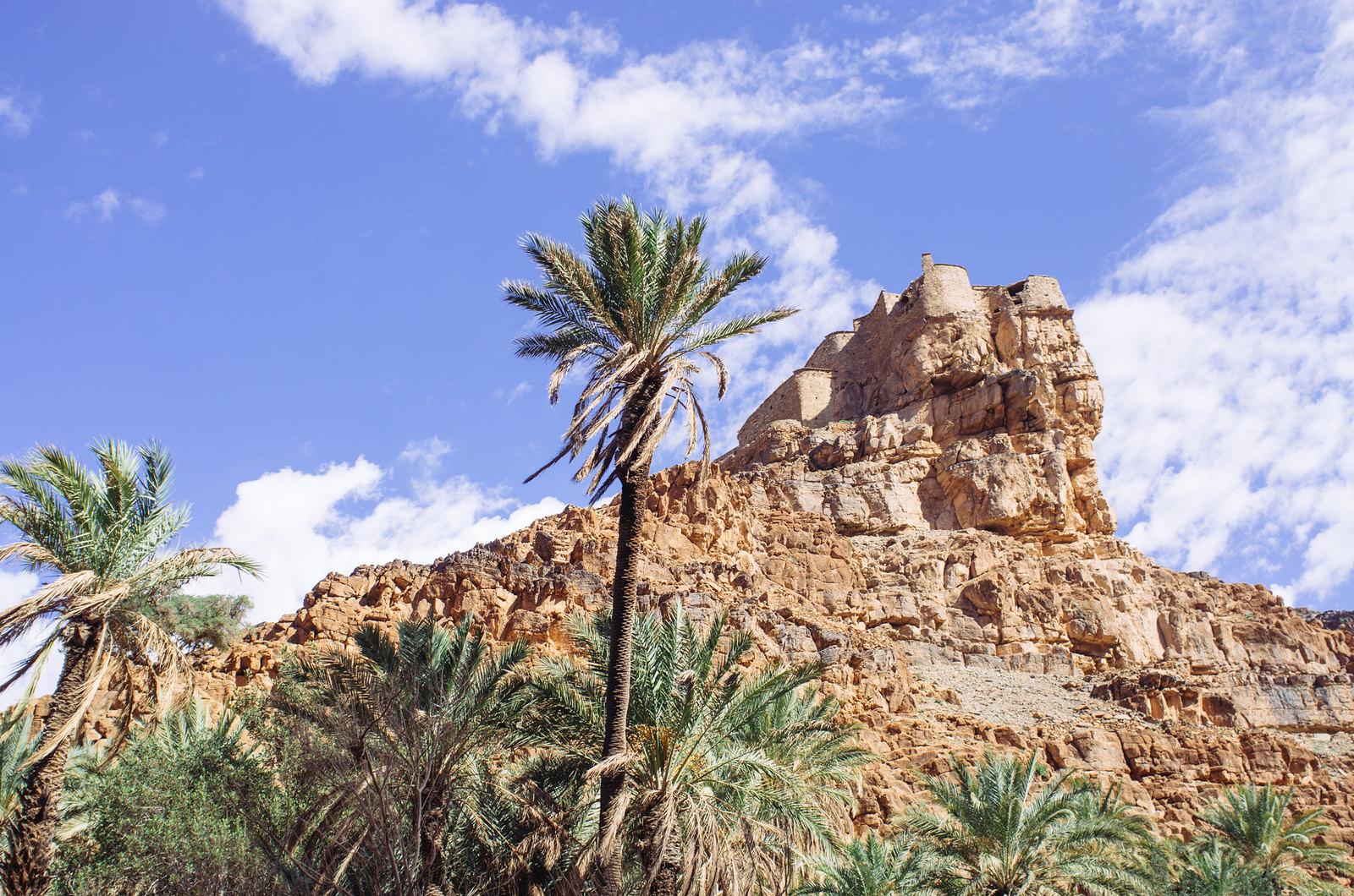 Amtoudi, anti-Atlas - 5 jours de trek au Maroc - L'agadir Id-Aïssa, grenier fortifié