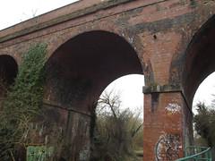 Sheldon Country Park - Hatchford Brook - viaduct near Marston Green