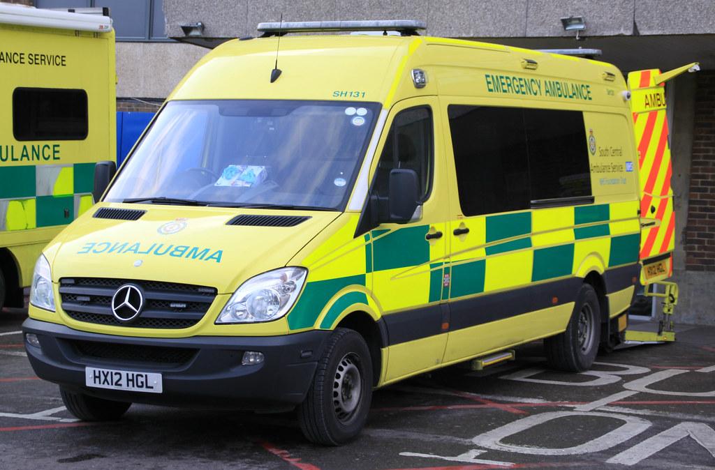 South Central Ambulance Service - Mercedes Sprinter Emerge