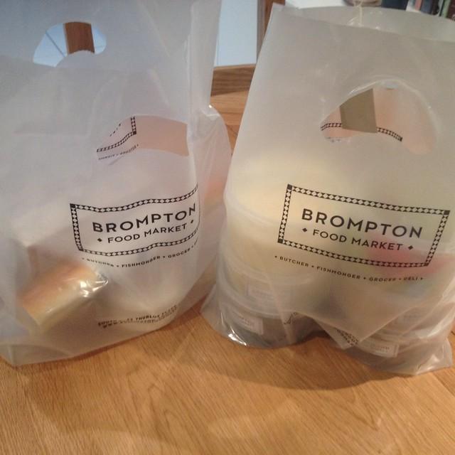 Brompton Food Market bags