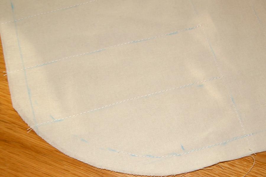 Tuto couture - bouillotte en graines de lin pour les cervicales - Etape 8