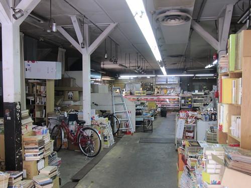 中競市場の内部にある精肉店