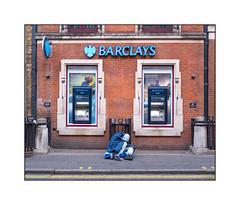 Homeless Man, West London, England.