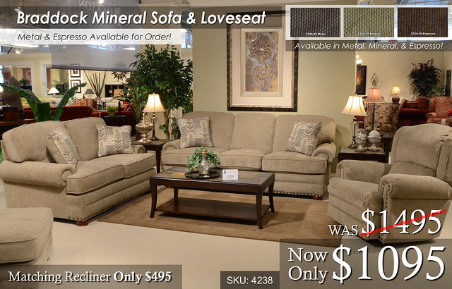 Braddock Mineral Living Set