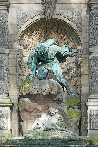 La Fontaine Médicis (Jardin du Luxembourg, Paris)