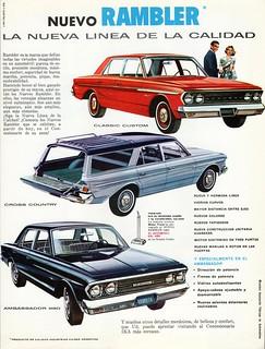 1963 Rambler Ad (Argentina)