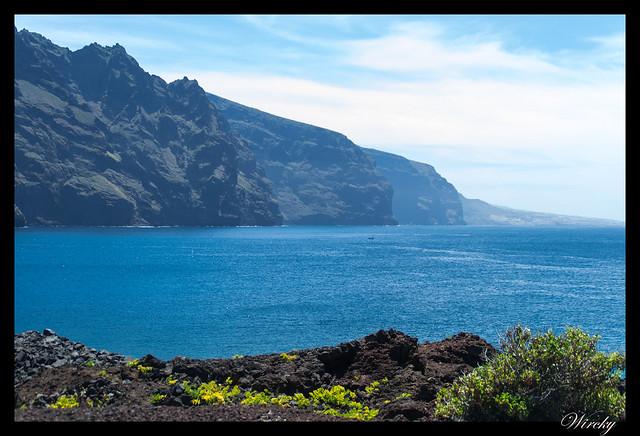 Punta de Teno lugar más occidental Tenerife - Acantilados los Gigantes
