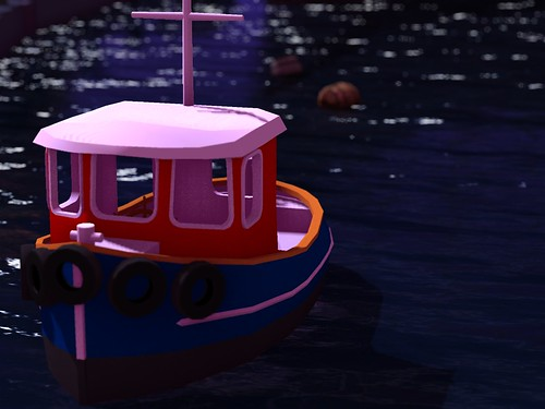 Welcome Area: Tugboat by Deoridhe Grimsdottir Quandry