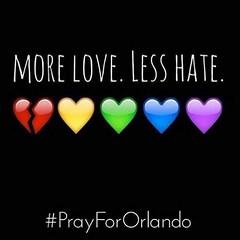 Sending love to Orlando.