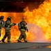 Handline fire training DFW training research center by Coastal Photography