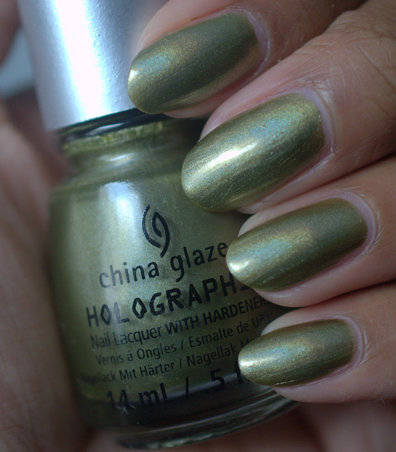 China Glaze OMG A UFO nail polish