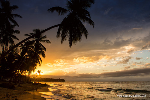 Sunset in Las Terrenas - El Portillo 02