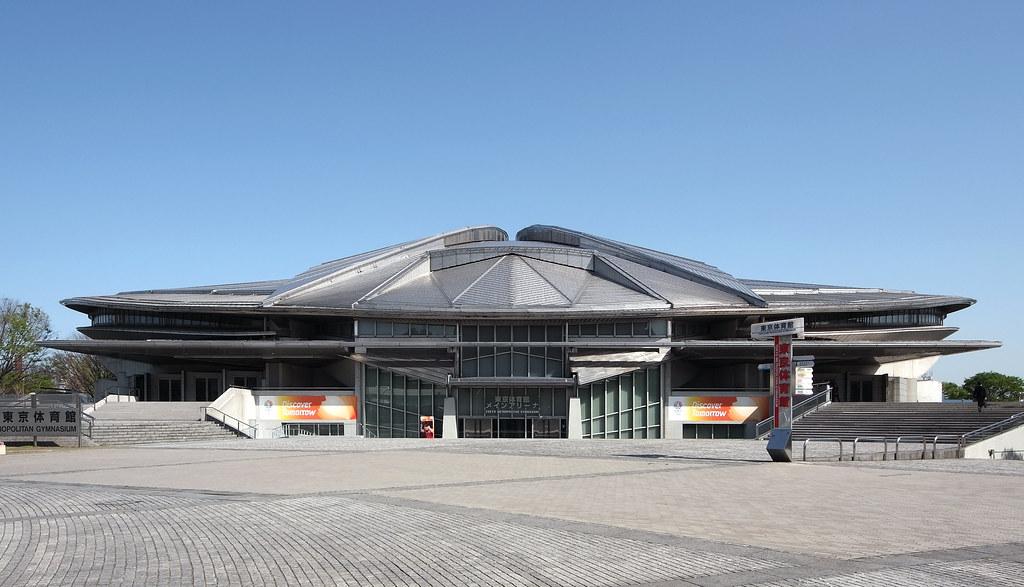 Tokyo Metropolitan Gymnasium: Fumihiko Maki, Tokyo, 1990