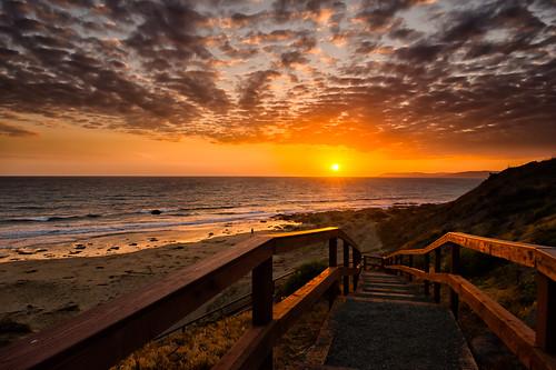 ocean ca sunset beach sand morrobay morrostrand anawesomeshot