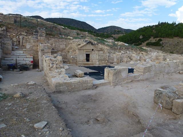 Turquie - jour 12 - De Kas à Pamukkale - 173 - Tombe de l'apôtre Philippe