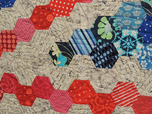 Union Back Quilt - Detail