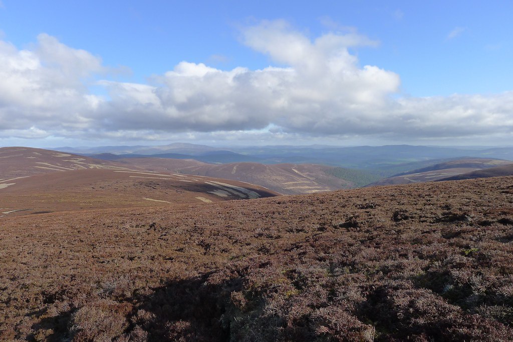 Towards Deeside across Birse