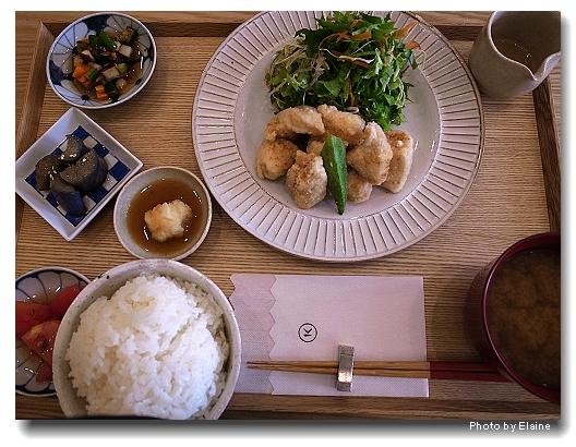 小器食堂唐楊雪玉炸雞塊套餐