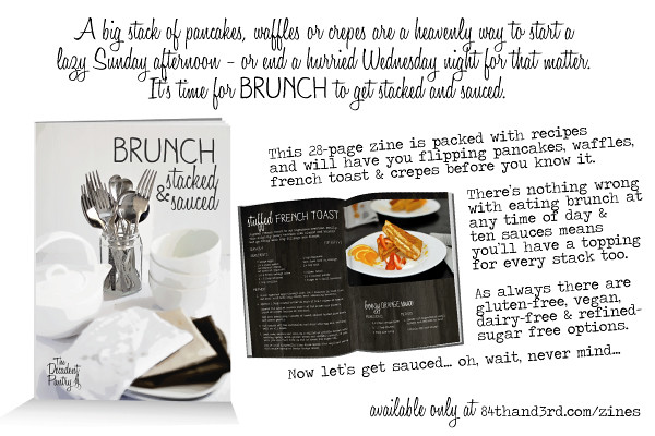 Brunch - Stacked & Sauced recipe zine