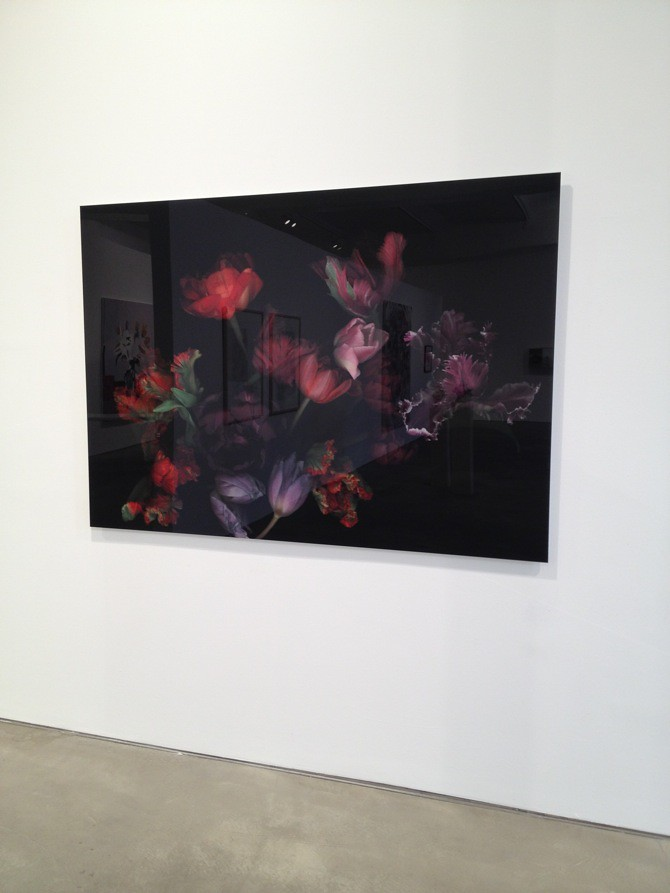 Group show  BLUMEN / FLOWERS / BLOMSTER at Galerie Mikael Andersen Berlin, Photos by artfridge.de, courtesy Galerie Mikael Andersen