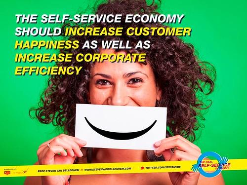 Self service should lead to win win