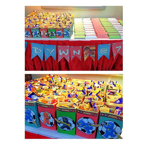 lootboxes for dwyn's bday! #ninjago #ninja #papelbyj #lootbox #personalized #party  #partyideas #kids #celebration #soccer #diy #handmade #craft