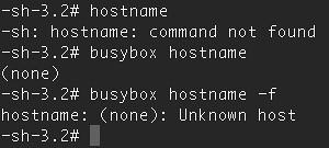 hostname (None)
