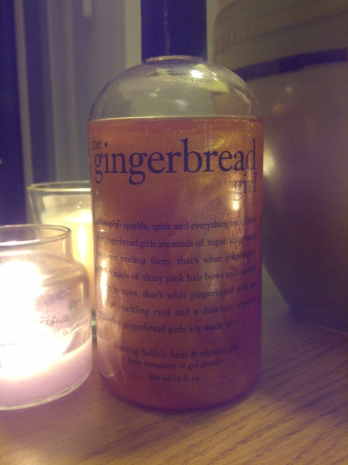 Philosophy The Gingerbread Girl Bath & Shower gel
