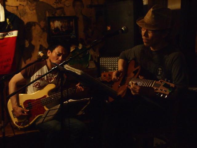 MACOTO & YOSHITAKA live at The Warrior Celt, Tokyo, 05 Jul 2013. 030