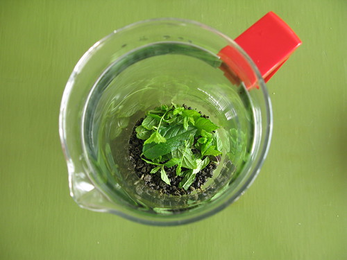My mint tea recipe