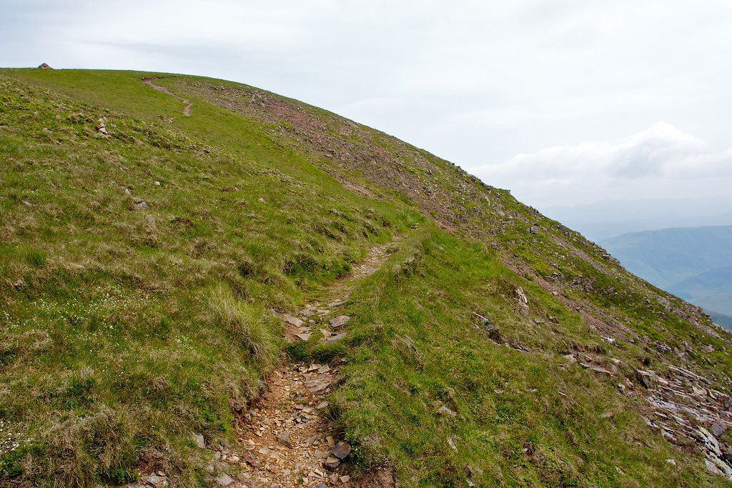 Ascent of Crag Hill