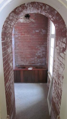 fort plumbing civilwar delaware fortdelaware americancivilwar privy peapatchisland