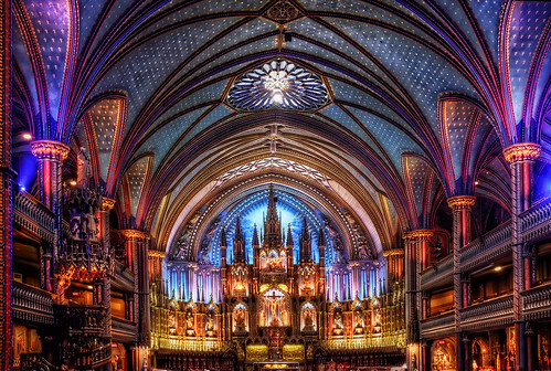 Notre-Dame Basilica of Montreal by szeke