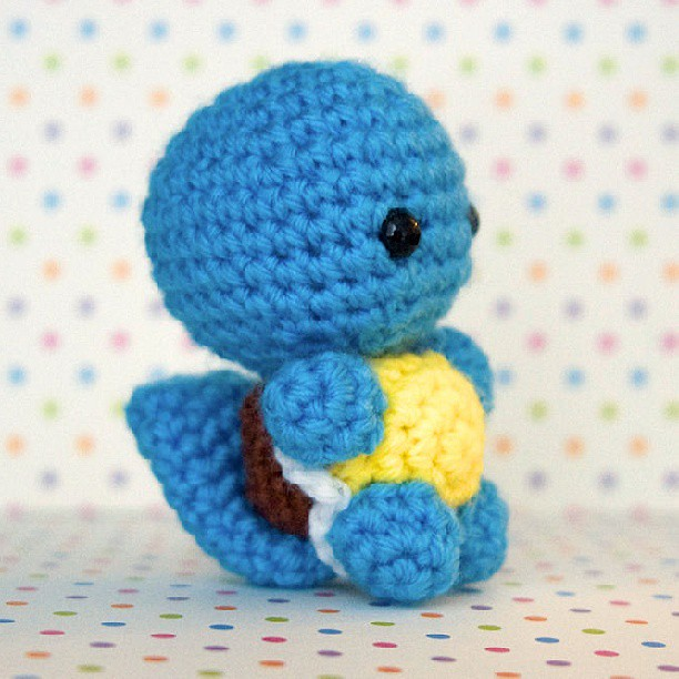 Another squirtle pic :) #pokemon #squirtle #amigurumi # ...