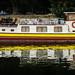 Hausboot im Elsass