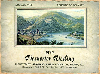 Piesporter Riesling 1970 (Mosel)
