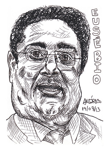 (47) Eusebio, former Portuguese football player by americoneves