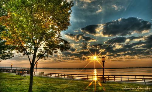 nature clouds sunrise nikon michigan serenity hdr detroitriver wyandotte mfp bishoppark
