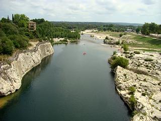 020 Uitzicht bij Pont du Gard