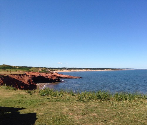At North Rustico beach