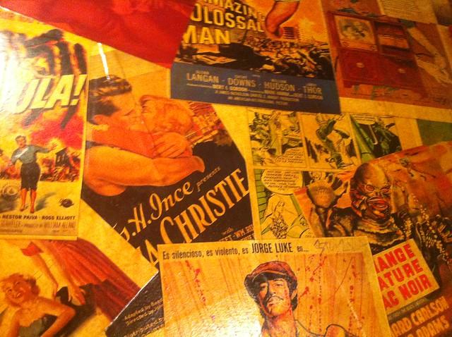 collage de bandes dessinées