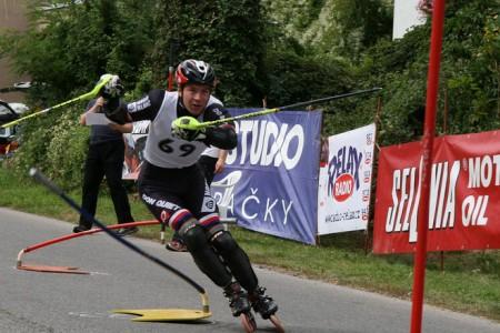 Mistrovství ČR a finále Českého poháru v in-line slalomu 2013