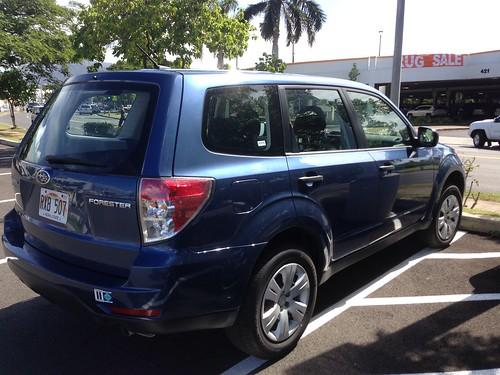2013 Subaru Forester 2 5X AWD Review/Ride Report - FlyerTalk