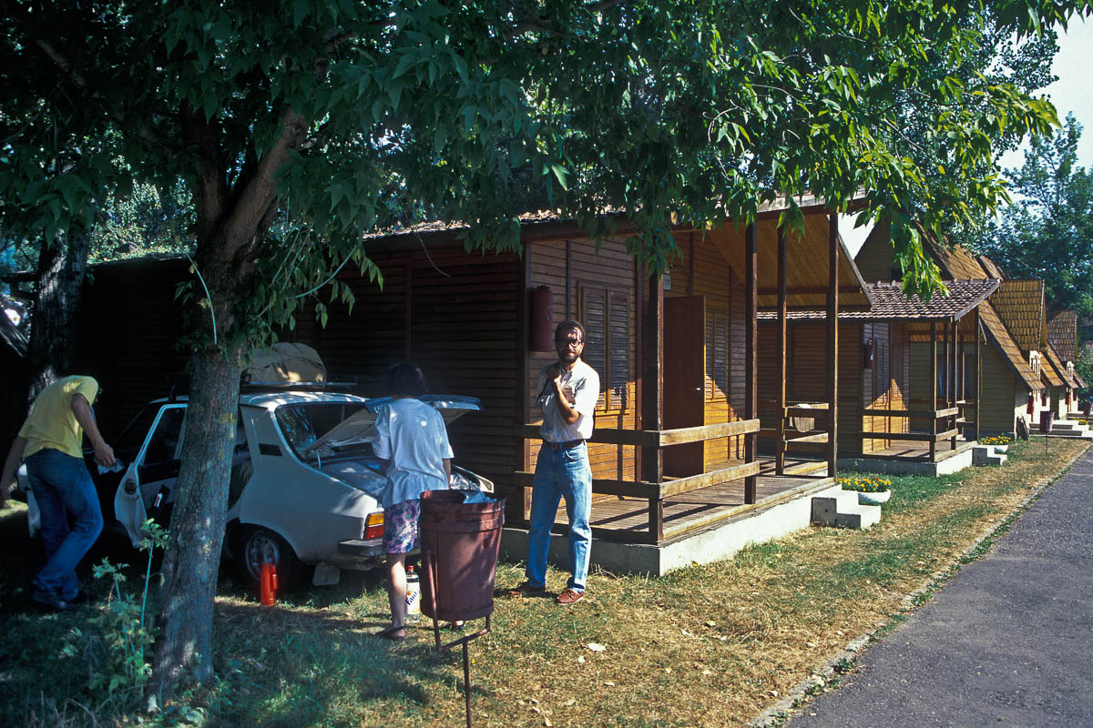 Camping con bungalows en Brasov